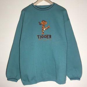 🔥Vintage 1990s Tigger Disney Sweatshirt